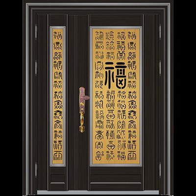 彩色不锈钢门SW-6059C(面包工艺)