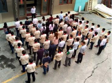 晟王员工团队3-15宣誓大会