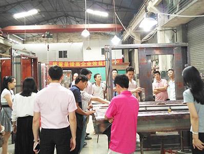 晟王工厂参观